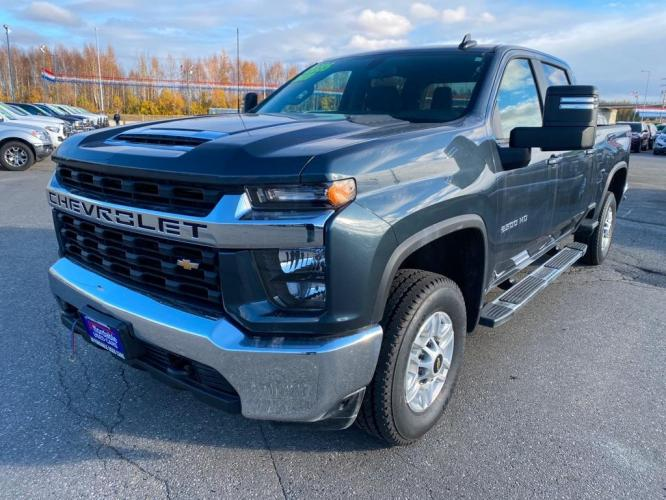 2020 GRAY CHEVROLET SILVERADO 2500 HEAVY DUTY LT (1GC4YNE76LF) with an 6.6L engine, Automatic transmission, located at 2525 S. Cushman, Fairbanks, AK, 99701, (907) 452-5707, 64.824799, -147.711899 - Photo #0