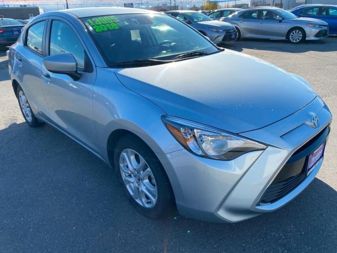 2018 SILVER TOYOTA YARIS IA (3MYDLBYV3JY) with an 1.5L engine, Automatic transmission, located at 2525 S. Cushman, Fairbanks, AK, 99701, (907) 452-5707, 64.824799, -147.711899 - Photo #0
