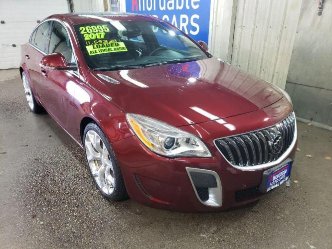 2017 BUICK REGAL 4DR