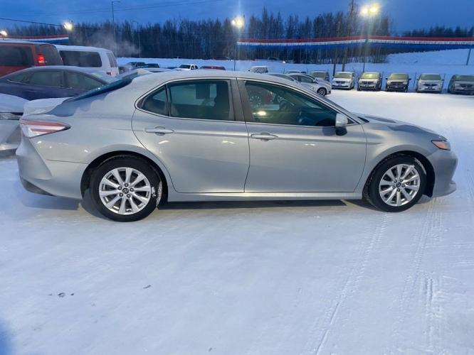 2019 SILVER TOYOTA CAMRY LE LE (4T1B11HK8KU) with an 2.5L engine, Automatic transmission, located at 2525 S. Cushman, Fairbanks, AK, 99701, (907) 452-5707, 64.824799, -147.711899 - Photo #0