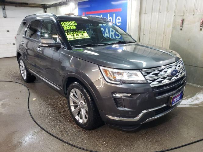 2019 GRAY FORD EXPLORER LTD LIMITED (1FM5K8F89KG) with an 3.5L engine, Automatic transmission, located at 2525 S. Cushman, Fairbanks, AK, 99701, (907) 452-5707, 64.824799, -147.711899 - Photo #0
