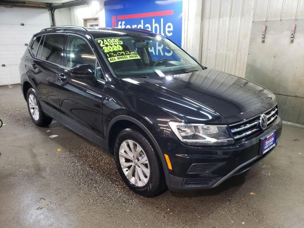 2020 BLACK VOLKSWAGEN TIGUAN S (3VV0B7AX9LM) with an 2.0L engine, Automatic transmission, located at 2525 S. Cushman, Fairbanks, AK, 99701, (907) 452-5707, 64.824799, -147.711899 - Photo #0
