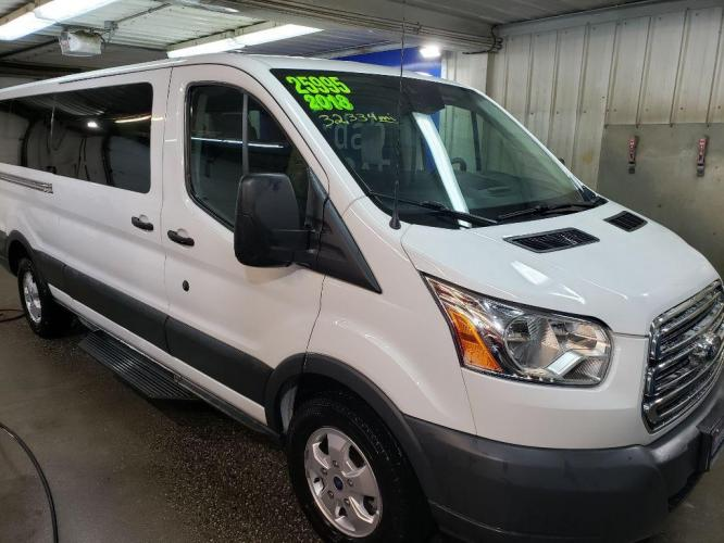2018 WHITE FORD TRANSIT T-350 (1FBZX2YM0JK) with an 3.7L engine, Automatic transmission, located at 2525 S. Cushman, Fairbanks, AK, 99701, (907) 452-5707, 64.824799, -147.711899 - Photo #0